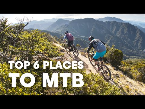 6 Unexpected Places To Ride Your Mountain Bike - w Rob Warner