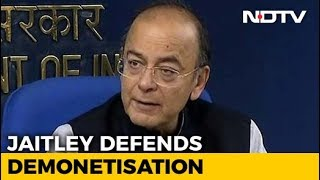 Note ban led to more tax collection: Arun Jaitley..