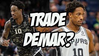 Should The Spurs Trade Demar Derozan? NBA News