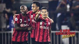 AFC Champions League 2018 : Muangthong United 5-2 Johor Darul Ta'zim