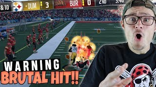 WARNING: NEVER STEP IN FRONT OF MARSHAWN LYNCH OR THIS WILL HAPPEN!! Madden 18 RTE