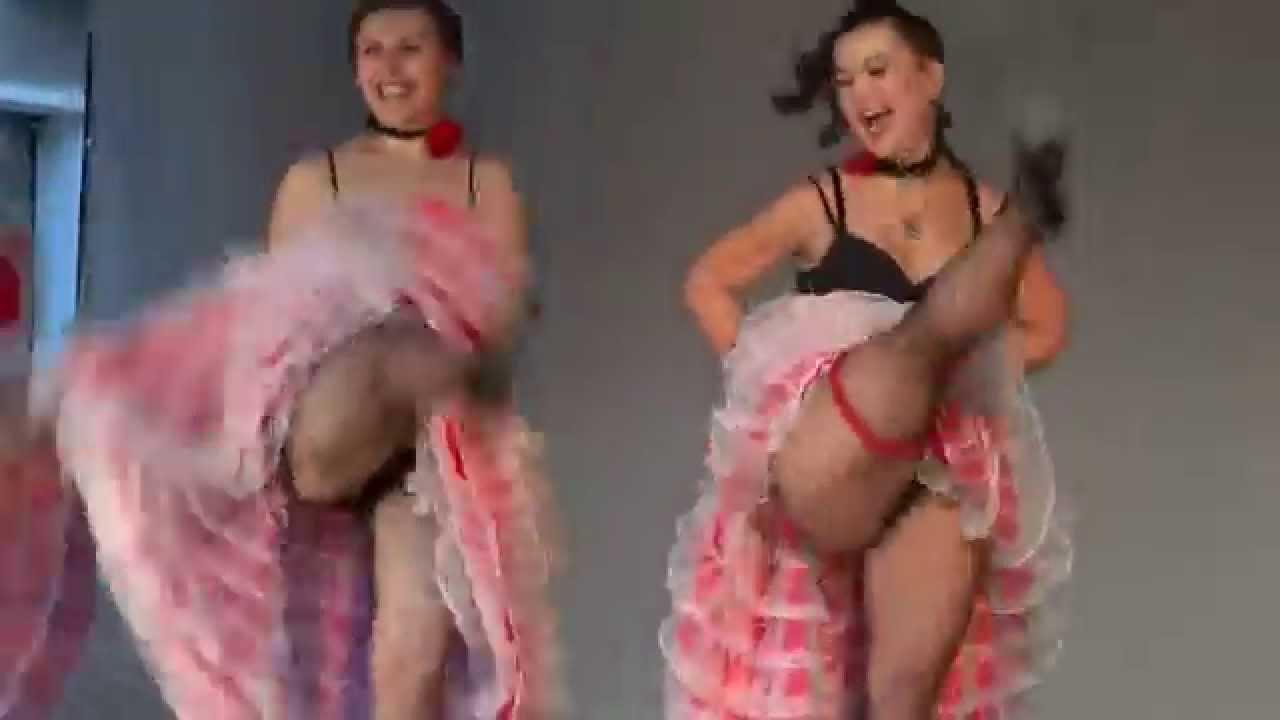 Видео порно канкан
