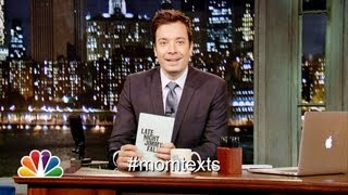 Hashtags: #MomTexts (Late Night with Jimmy Fallon) (Late Night with Jimmy Fallon)