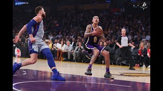 Kyle Kuzma Goes Off For Career High 41 Points In 3 Quarters!  Lakers Blowout Pistons