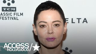 Rose McGowan Turns Herself In For Felony Drug Possession