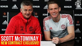 Scott McTominay signs new deal! | Manchester United | Exclusive MUTV Interview