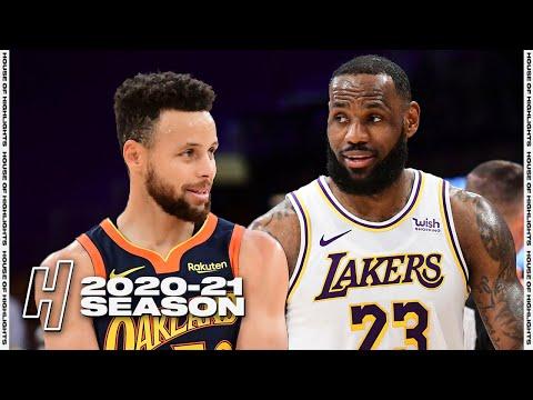 Golden State Warriors vs Los Angeles Lakers - Full Game Highlights | February 28, 2021 NBA Season