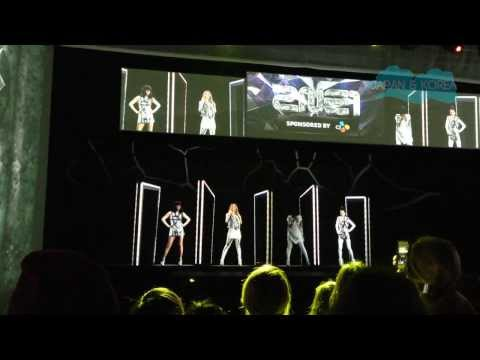 2NE1 Hologram Concert at KBEE 2013 London - Part 2 - 'I am the Best'
