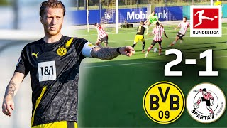 Borussia Dortmund - Sparta Rotterdam I Highlights 2:1 I Reus Goal on his Comeback
