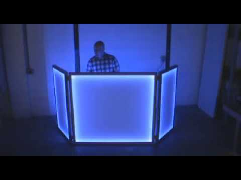 Light Up Led Dj Booth Facade Wmv Youtube