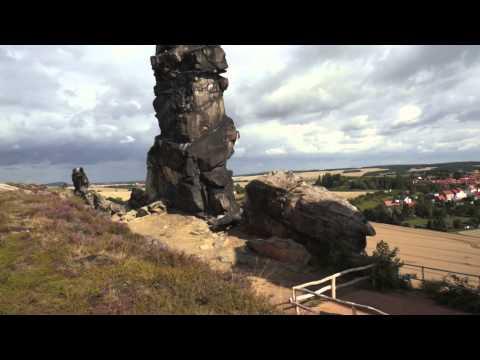 Die Teufelsmauer - Bizarre Felsen
