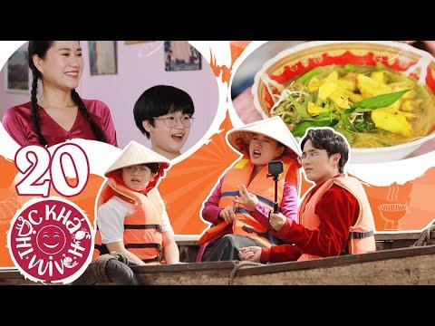Thực Khách Vui Vẻ #20: Huỳnh Lập rủ rê Lâm Vỹ Dạ về quê ăn món đặc sản Bún cá cực ngon ở Long Xuyên