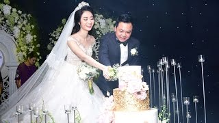 Toàn cảnh tiệc cưới Hoa Hậu Thu Ngân và chồng đại gia Doãn Văn Phương - Tin Tức Sao Việt