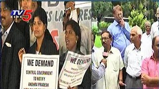 Telangana advocates take out rally from Nizam's Club to Gu..