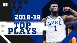 Duke Basketball: Top Plays of 2018-19 Season!