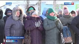 В селе Добровольск Русско-Полянского района открылся современный модульный ФАП
