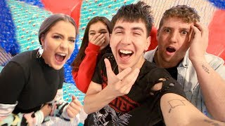 WE CHRISTMAS WRAPPED HER WHOLE ROOM!! (PRANK)