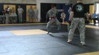 Intergender Military Fight Tourney
