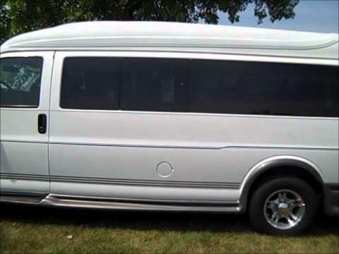 9 passenger conversion van by rocky ridge for sale youtube. Black Bedroom Furniture Sets. Home Design Ideas