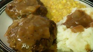 Southern Style Hamburger Steak & Gravy
