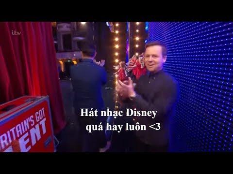 [Eng-Vietsub] Perfect Pitch: không thể rời mắt với các bài hát Disney cực kỳ dễ thương: Britain's GT