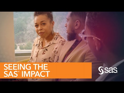 To Portia Exum, a SAS Software Tester from New Jersey, the Black Homeownership Project is also very personal. Portia not only takes pride in her day-to-day work at SAS, but also leaving her desk to see, with her own eyes, the active impact that SAS analytics is making.