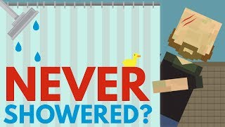 What Would Happen If You Never Showered?