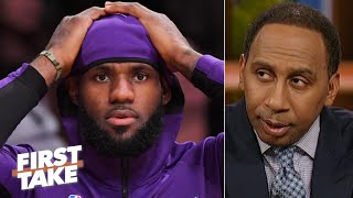 Stephen A. to LeBron: Kawhi is coming for you, do something about it! | First Take