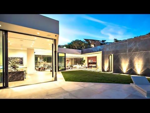 Veľkolepá ultramoderná luxusná rezidencia v Los Angeles, Kalifornia (McClean Design)