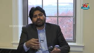 Pawan Kalyan Interview in Washington DC..