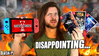 These NEW Nintendo Switch Games Really DISAPPOINTED Me.