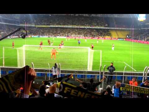 Fenerbahçe 4-1 Gençlerbirliği Marş ve Atkı Şov