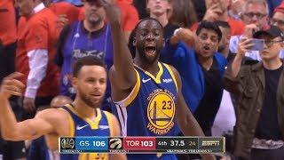 GS Warriors vs Toronto Raptors - Game 5 - Full 4th Qtr | 2019 NBA Finals