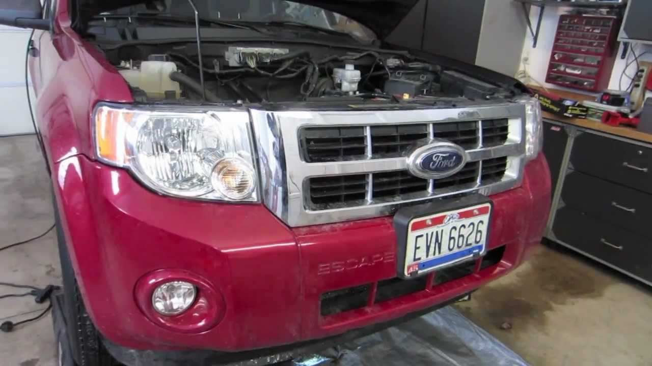 Ford Escape 2Wd >> (How To) 2009 Ford Escape Oil Change - YouTube