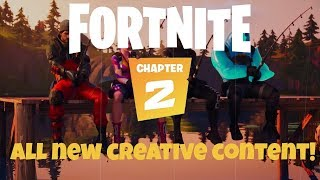 Chapter 2: All new CREATIVE content. CRAFTING, fishing, locks, galleries!