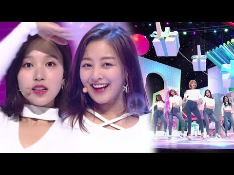 《Comeback Special》 TWICE(트와이스) - Heart Shaker @인기가요 Inkigayo 20171217