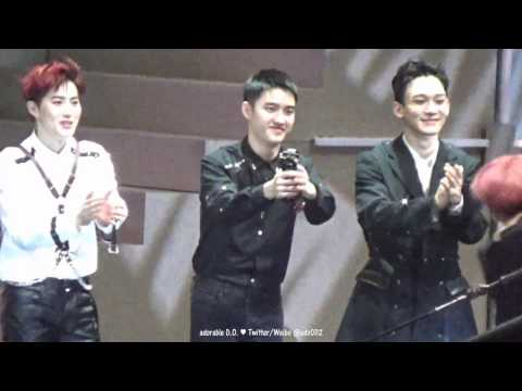 161202 Ending (EXO D.O. 디오/경수 focus) @ 2016 MAMA in Hong Kong