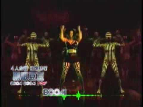 黑眼豆豆/Boom Boom Pow 60秒上字MV