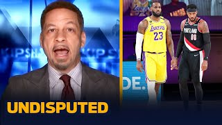 Carmelo joins LeBron, AD, & Westbrook at Lakers — Broussard | NBA | UNDISPUTED
