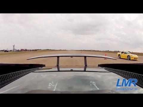 Twin Turbo Lamborghini Gallardo vs 1000hp Viper