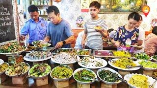Quán Buffet Chay Độc Lạ ở Sài Gòn Ăn (Bao Bụng) Trả tiền tùy Tâm | Saigon Travel
