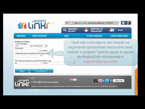 Como publicar um projecto @ProjectLinkr
