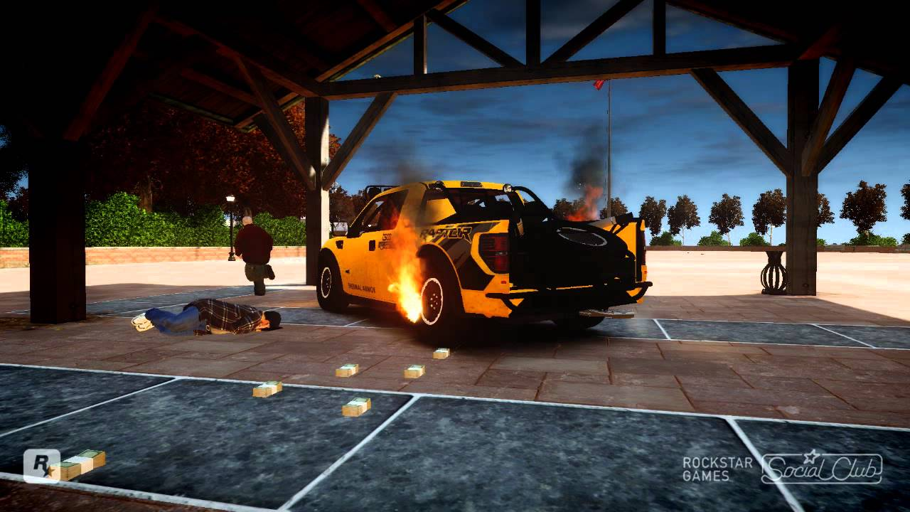 2011 ford racing raptor xt gta 4 crash test bullet impacts etc youtube. Black Bedroom Furniture Sets. Home Design Ideas