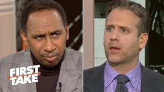 'You're lying!' – Stephen A. calls out Max Kellerman during a Carson Wentz debate | First Take