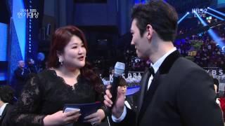 141231 KBS 연기대상 인터뷰 지창욱cut