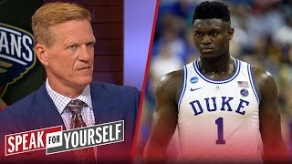 Zion will not have a 'LeBron-like' impact on the NBA – Ric Bucher | NBA | SPEAK FOR YOURSELF