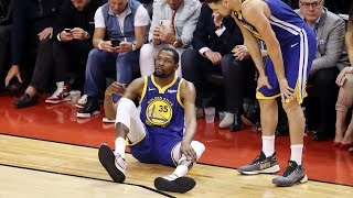 Kevin Durant Gets Surgery for Ruptured Achilles 2019 NBA Finals