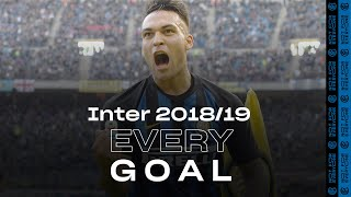 EVERY GOAL! | INTER 2018/19 ⚽⚫🔵😮