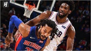 Detroit Pistons vs Philadelphia 76ers - Full Game Highlights   October 15, 2019 NBA Preseason
