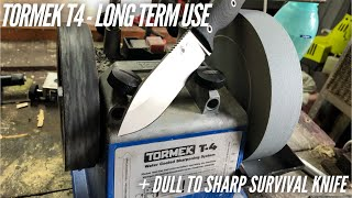 Tormek T4 as a Knife Sharpener - Long Term Review + Dull to Sharp demo